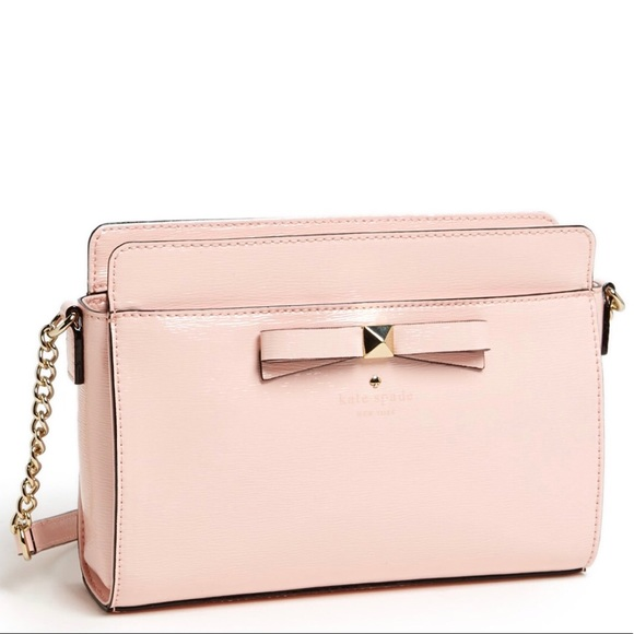 55183d31506 Kate Spade light pink Leather Crossbody Bag